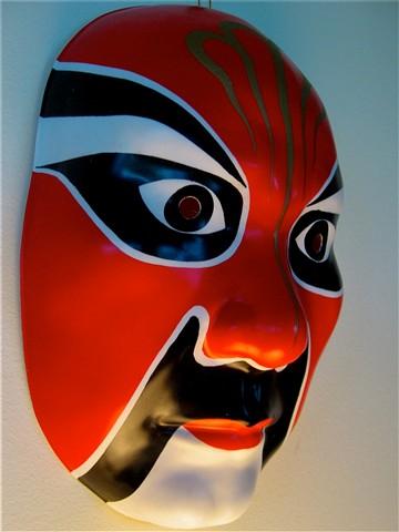 Japanese Kabuki Mask: Digital Photography Review