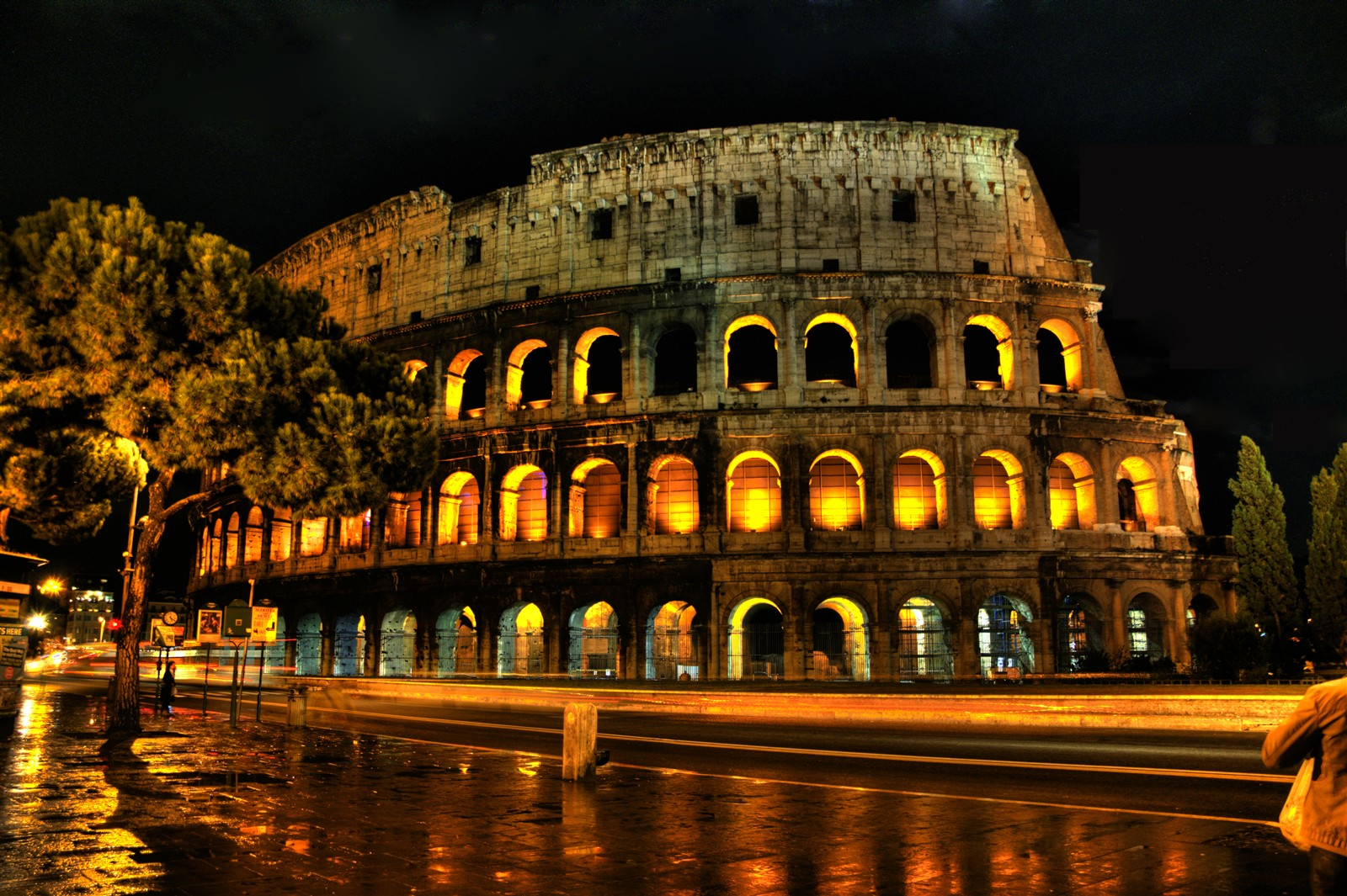 Colosseum at night: smithjs2: Galleries: Digital ...